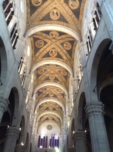Roof of the nave, Lucca cathedral