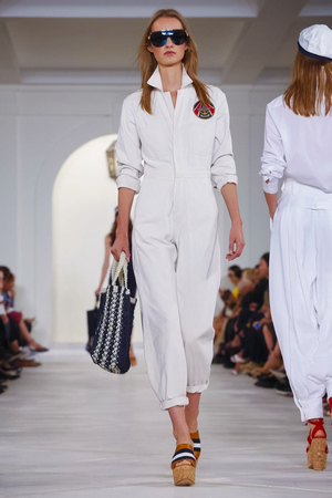 Ralph Lauren Fashion Show, Ready to Wear Collection Spring Summer 2016 in New York