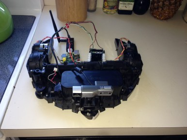 Electronics Mounting Board 001