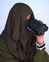 women camera