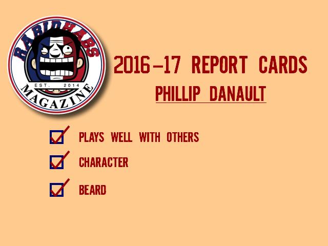 Phillip-danault-report-card