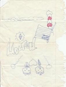 Shikieth Childhood Drawing 1