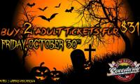 It's Back! New Egypt Speedway Halloween Ticket Sale Set for Friday, October 30th