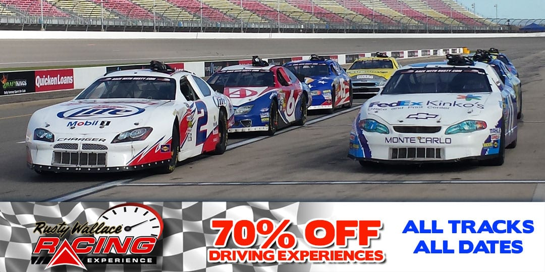 Sale 70% OFF Driving Experiences for all tracks and dates!