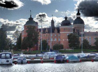 Gripsholm Castle in Mariefred, Sweden
