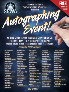 autographing session