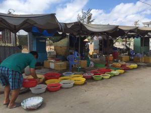 Morgens auf dem Markt