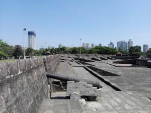 Auf der Festung von Intramuros