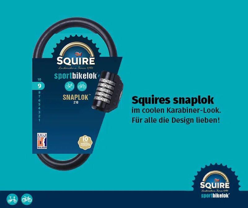 Produkttest: Squire Snaplok 260 - Das Fahrradschloss aus UK