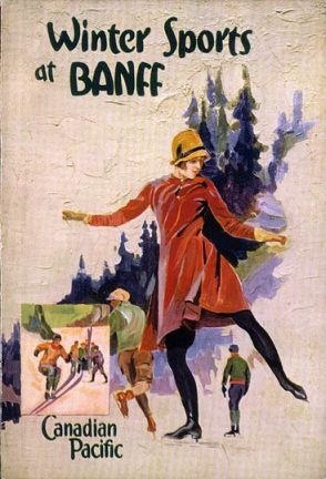 Winter Sports by Canadian Pacific Railway