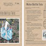 Water Bottle Tote PDF Sewing Pattern   Radiant Home Studio