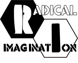 Radical Imagination Square Logo B&W