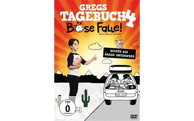 VERLOSUNG: Gregs Tagebuch 4: Böse Falle