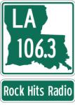 LA 106.3 KXOR 96.7 Dan FM WMYO C107.5 107.5 KCIL Suburst Houma Krock K-Rock New Orleans