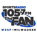 105.7 The Fan Sports Radio 1250 WSSP Milwaukee