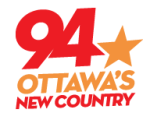 New Country 94 93.9 Bob BobFM CKKL Ottawa Cub Carson Milky Bell Media