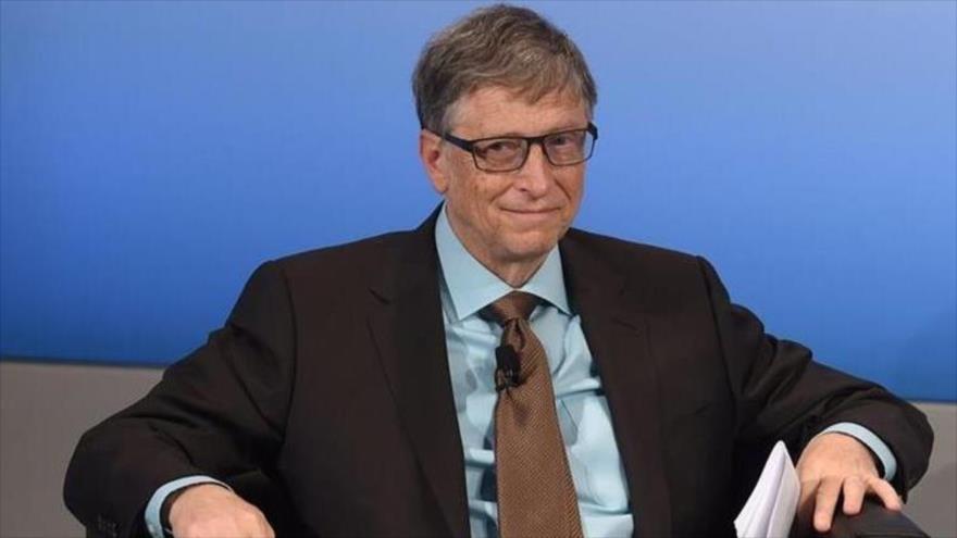 El cofundador de Microsoft y el hombre más adinerado del mundo, Bill Gates participa en la Conferencia de Seguridad de Múnich (Alemania), 18 de febrero de 2017.