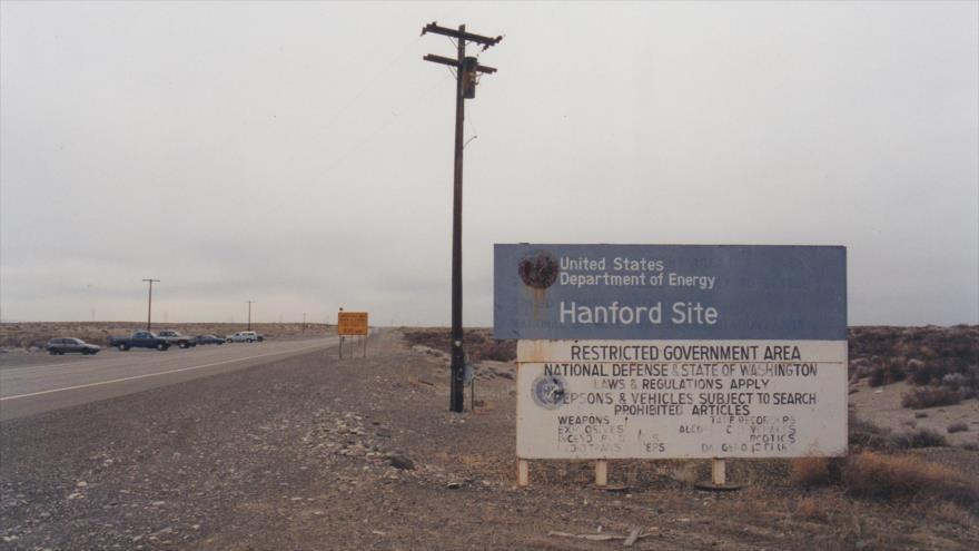 Complejo de producción nuclear Hanford, en Washington (EEUU).