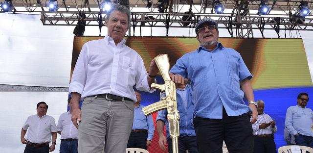 Las FARC ya cumplieron, ahora le toca al gobierno de Santos IMAGEN