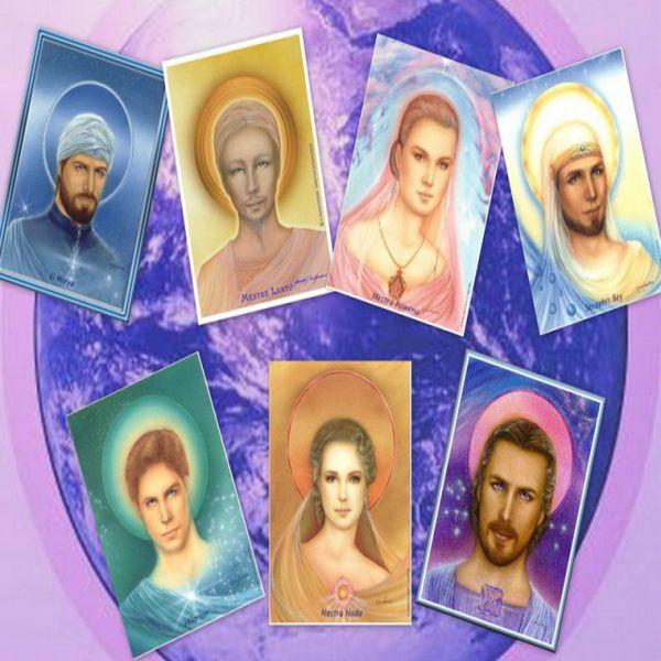 Os Sete Raios Principais Dos Mestres Da Grande Fraternidade Branca Universal.