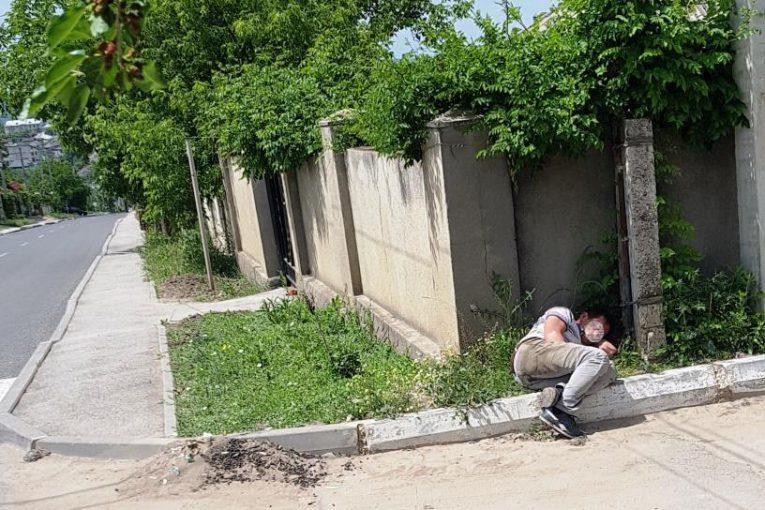 Tanar 'obosit' strada Orhei 3