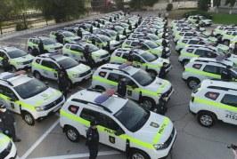 UE a donat 52 de mașini noi pentru Poliția din R. Moldova