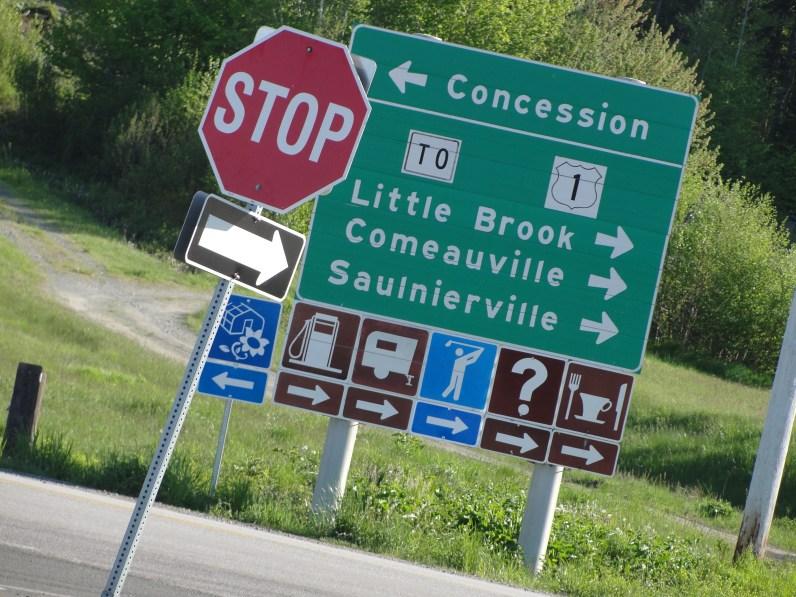 Un coin de la Nouvelle-Écosse dont certains villages ont des noms à consonance résolument acadienne, comme Comeauville et Saulnierville.