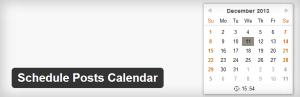 Schedule Post Calendar