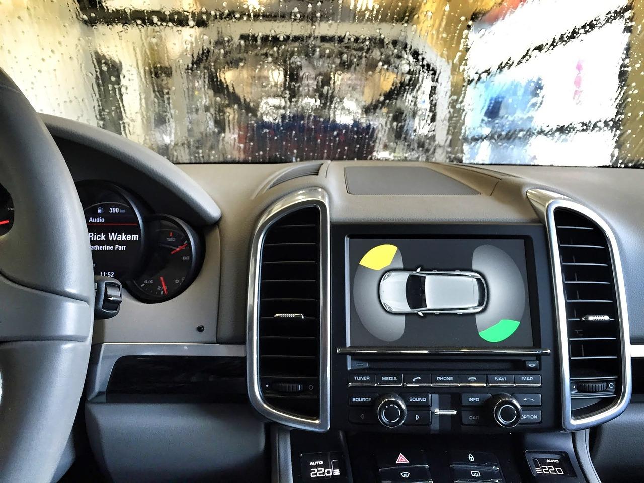 Tableau de bord d'une automobile