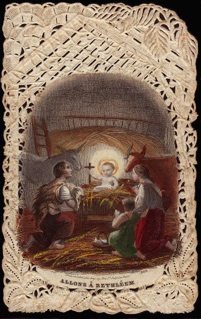 nativity Bouasse 989 Let us Go to Bethlehem