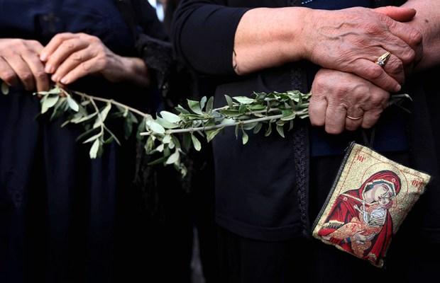 TOPSHOTS-IRAQ-RELIGION-CHRISTIAN-PALM-SUNDAY