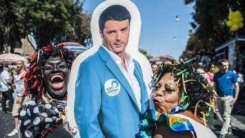 Il cattocomunista Matteo Renzi apre alle unioni omosessualiste