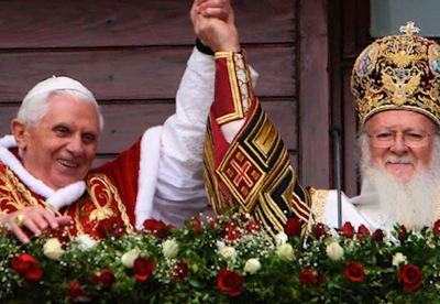 J. Ratzinger: hanno ragione gli Ortodossi, il Papa ha un primato di solo onore