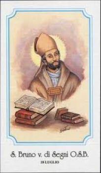 San Bruno di Segni resistette a alle prevaricazioni di Papa Pasquale II in tema di investiture.
