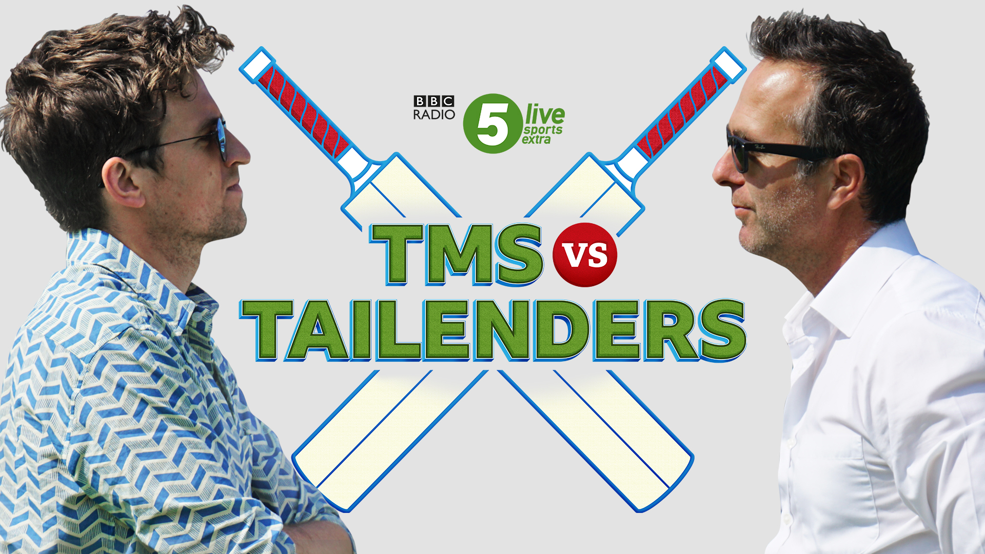 TMS to go up against Tailenders at cricket     RadioToday bbc radio 5 livebbc radio 5 live sports extragreg jamesjimmy  andersonMichael VaughanPhil Tufnell