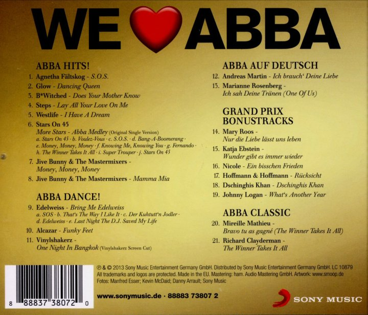 ABBA The Singles Box  WHAT IS DIFFERENT.11 Video Happy New Year Cua Abba 2014