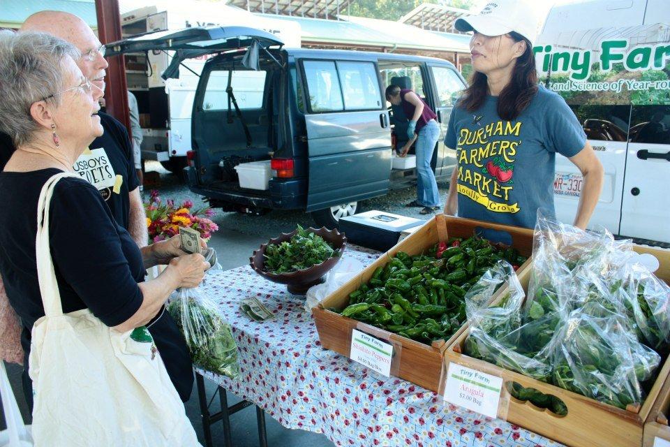 Durham Farmers Market, NC