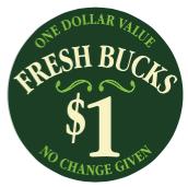 Fresh Bucks front