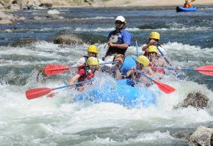 Colorado White Water Rafting Image