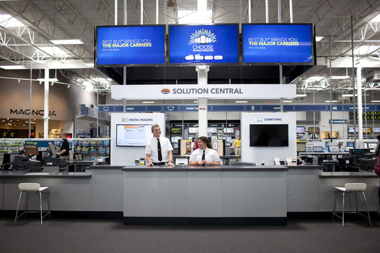 Best Buy's Geek Squad in-store