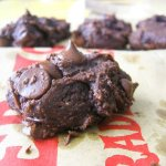 Double Dark Chocolate Chip Cookies