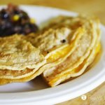 Cheese Triangles :: Kid Favorite Quesadillas