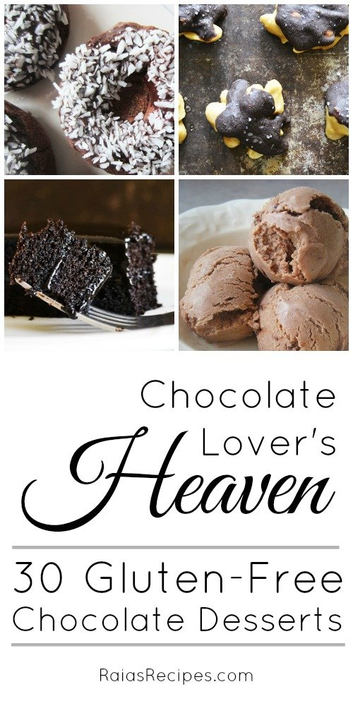 Gluten-Free Chocolate Lover's Heaven | RaiasRecipes.com