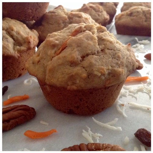 Gluten-Free Morning Glory Muffins from Dinner Was Delish