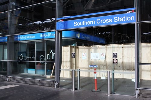 Want to enter Southern Cross Station? Try again!