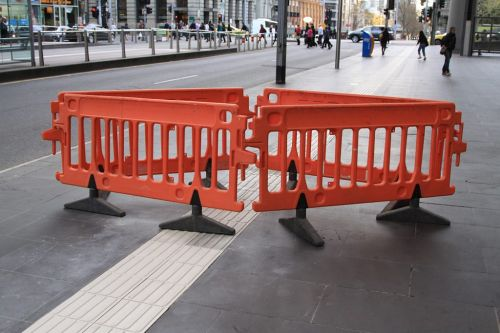 And *still* more repairs to tactile paving