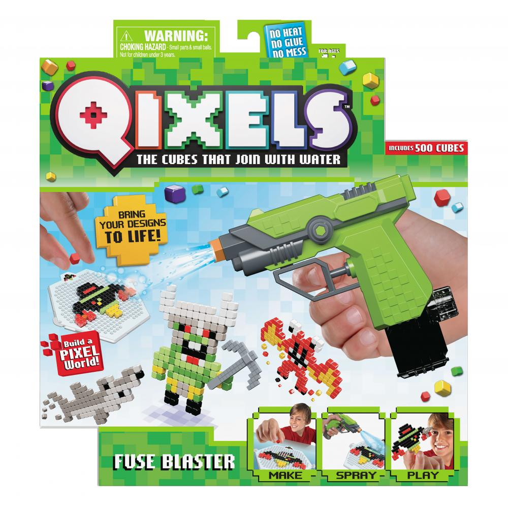 Qixels Fuse Blaster #GiftGuide