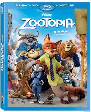 Disney Zootopia Out Now on Blu-ray & DVD