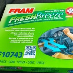 Breathe Fresh Air Into Your Car With FRAM Fresh Breeze Cabin Air Filter