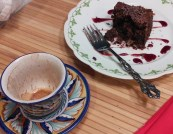Chili Spiced Brownie Remains